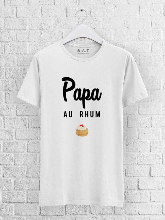 T-shirt Papa au rhum