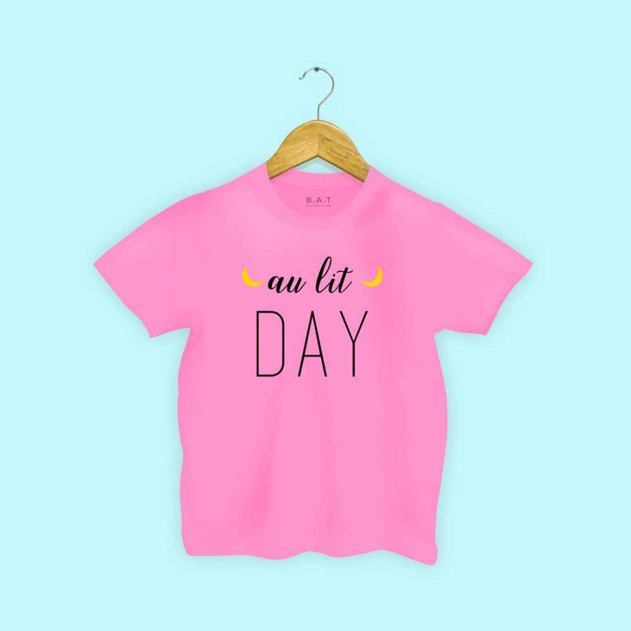 T-shirt Au lit day