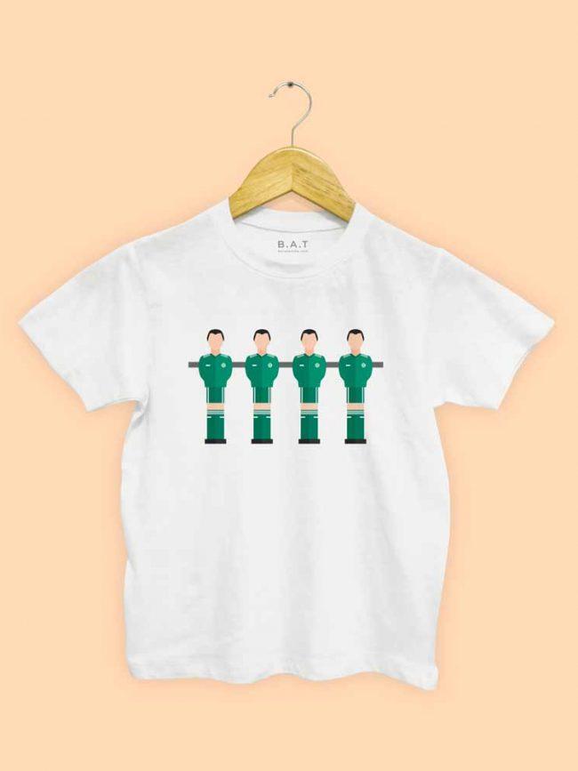 T-shirt Baby foot Raja