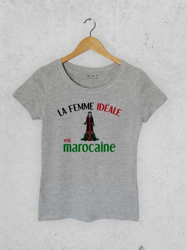 T-shirt Femme marocaine 2