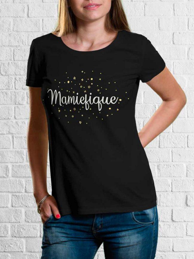 T-shirt Mamiefique
