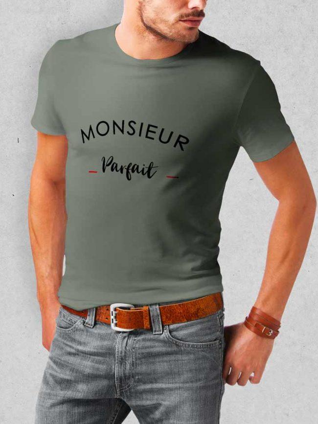 T-shirt Mr parfait