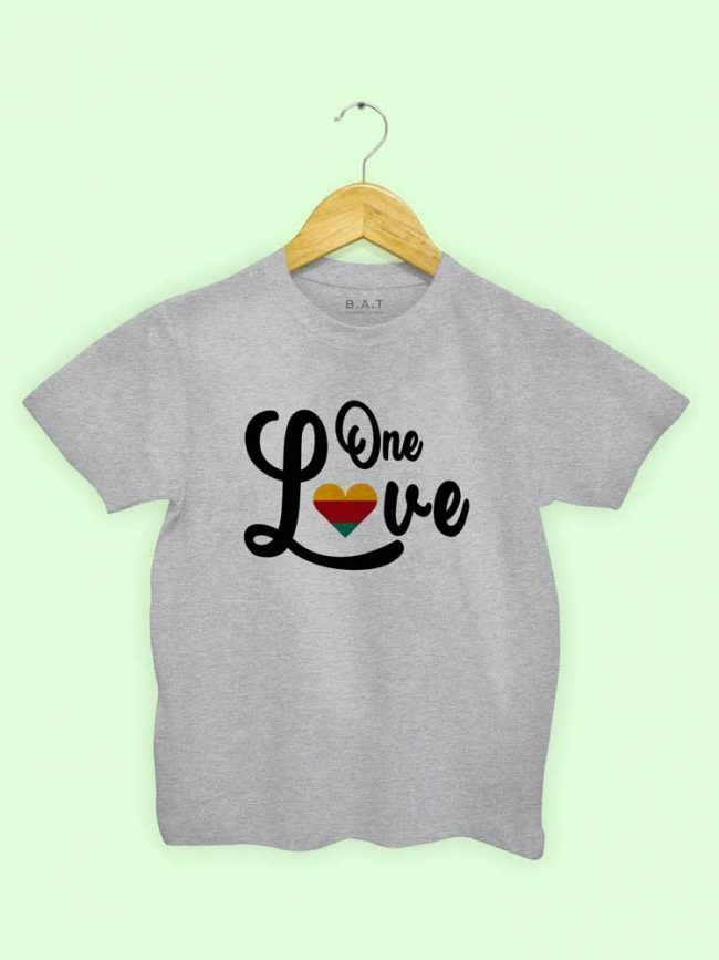 T-shirt One love 2