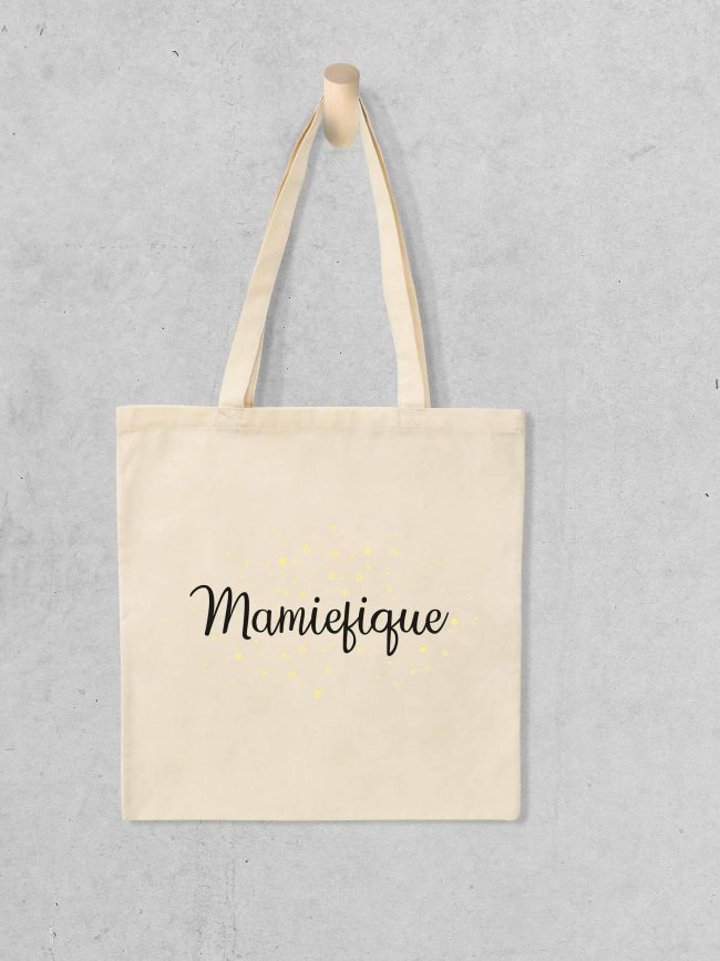 Tote bag Mamiefique