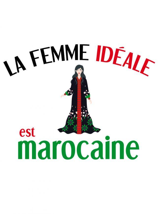 Tote bag Femme marocaine 2