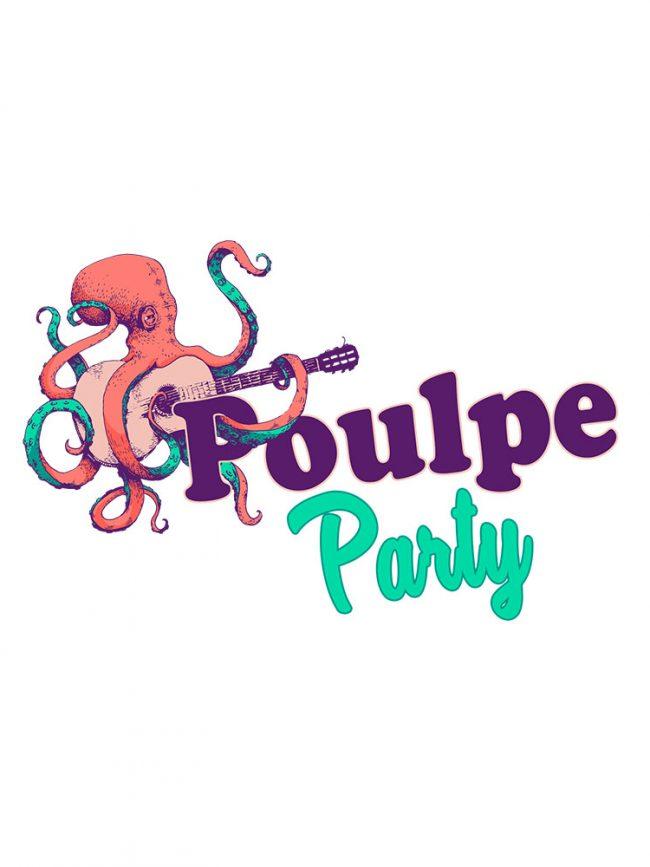 T-shirt Poulpe party
