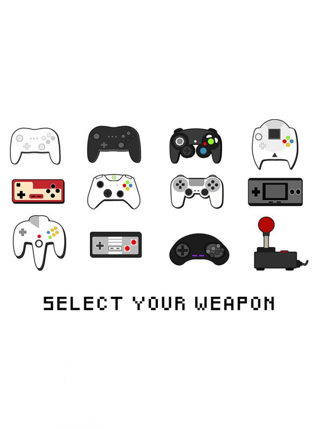 T-shirt Select your weapon