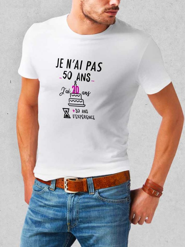 T-shirt Anniversaire 1 personnalisé