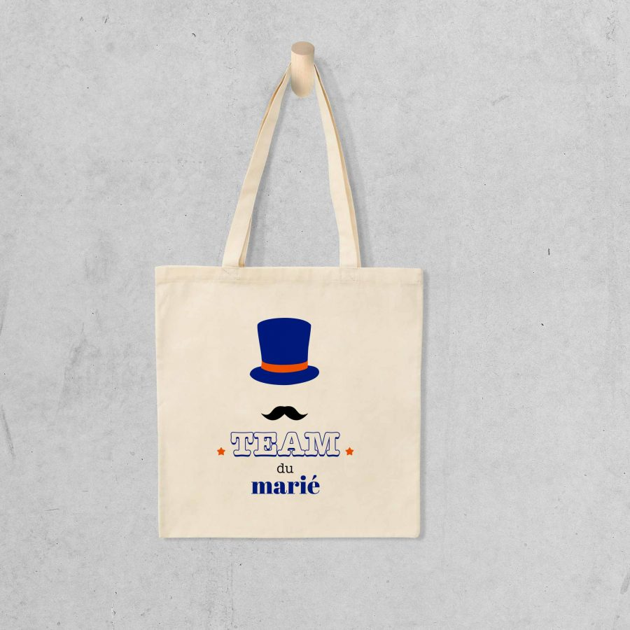 Tote bag Team marié 2 – EVG