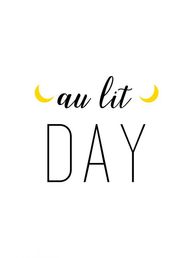 Body Au lit day
