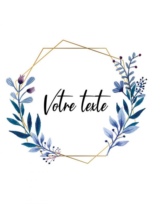 Pochette Save the date 1 personnalisée