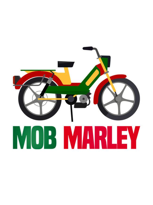 T-shirt Mob marley