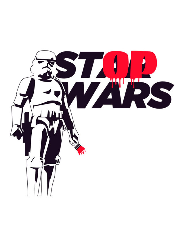 Pochette Stop wars