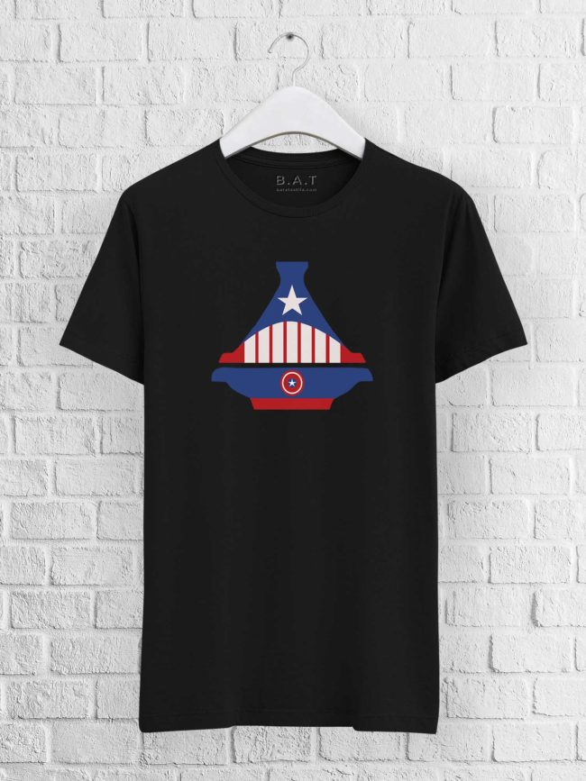 T-shirt Captain America Tajine
