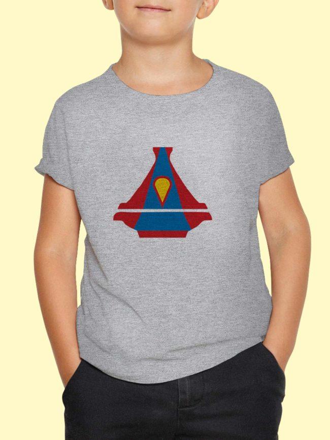 T-shirt Superman Tajine