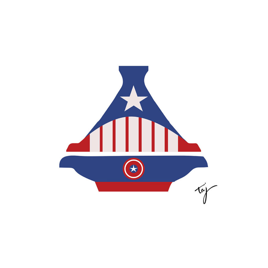 Body Captain America Tajine
