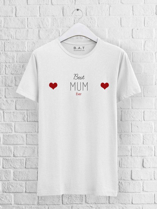 T-shirt mixte – Best mum ever