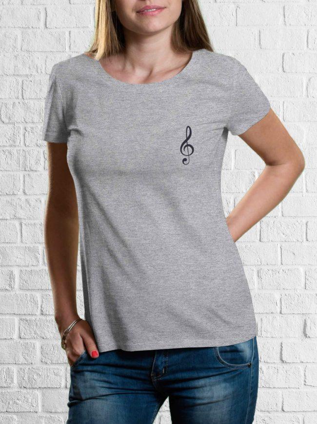 T-shirt Clé de sol