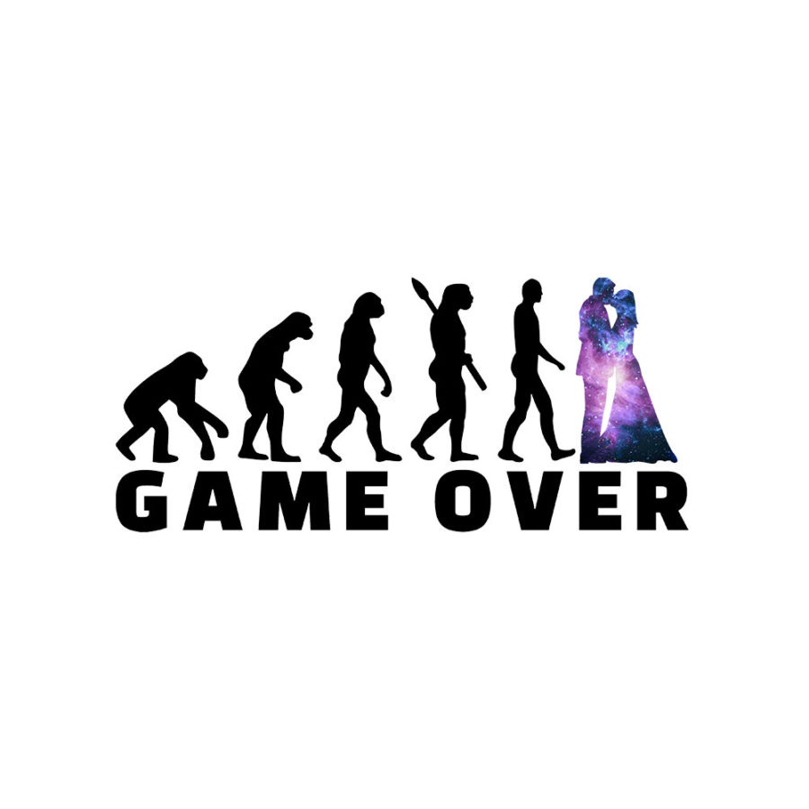 Tote bag EVG Game over