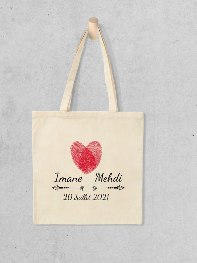 Tote bag Save the date 11