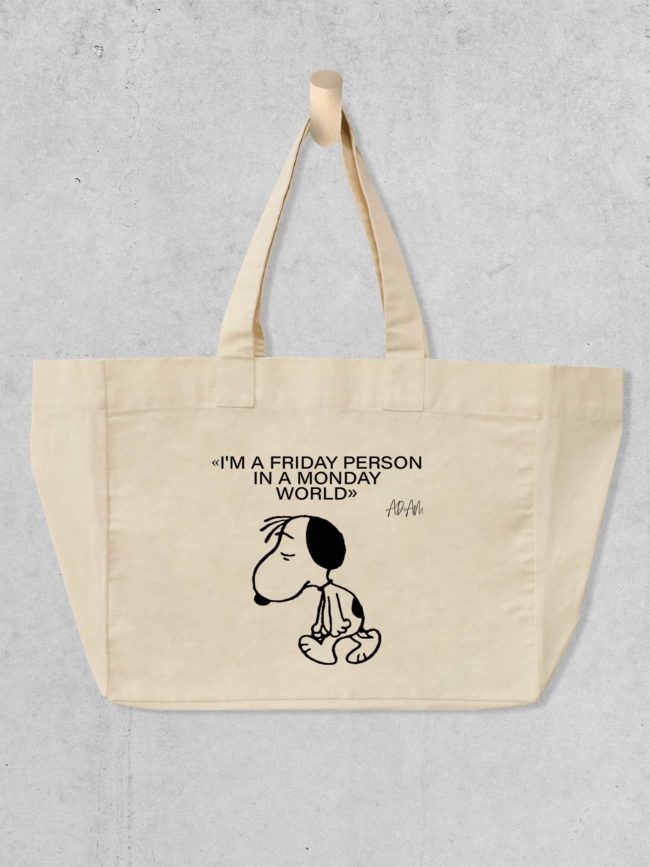 Cabas Snoopy – Friday person