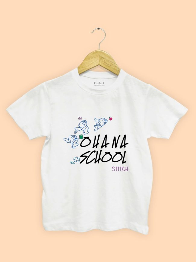 T-shirt Ohana school