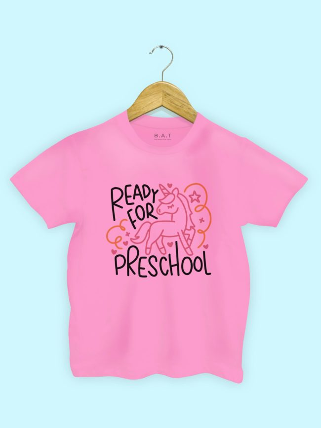 T-shirt Preschool licorne