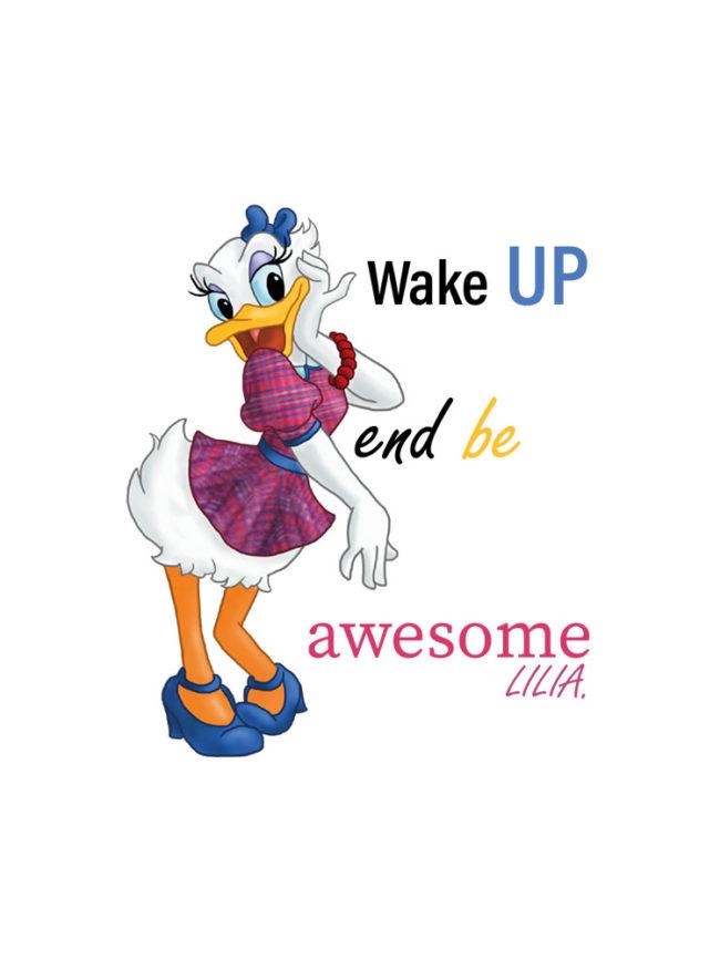 T-shirt Daisy – Wake up