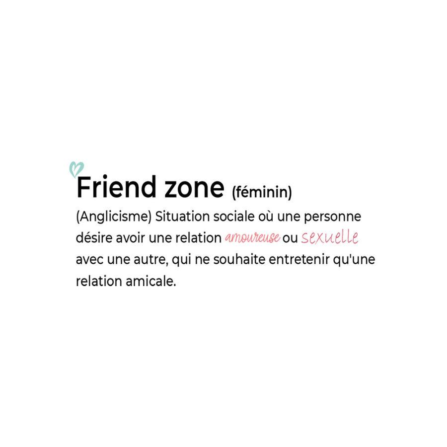 Pochette Friend zone