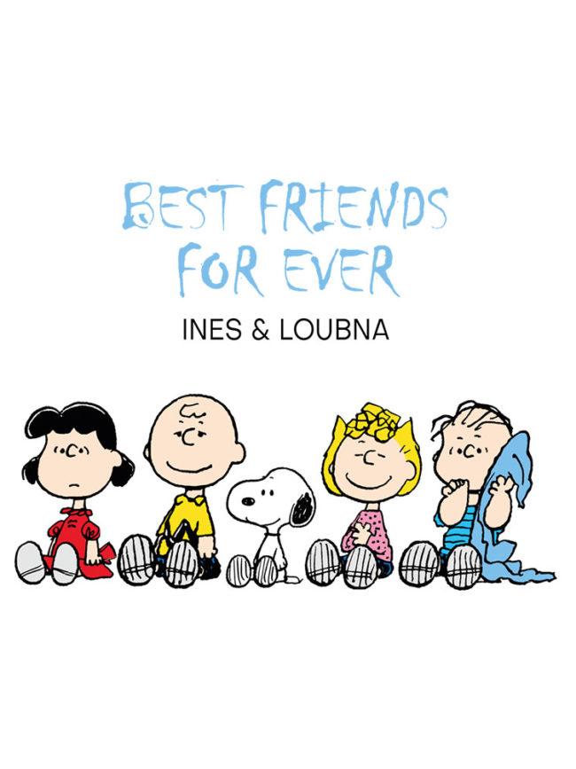 Cabas Snoopy – Best friends