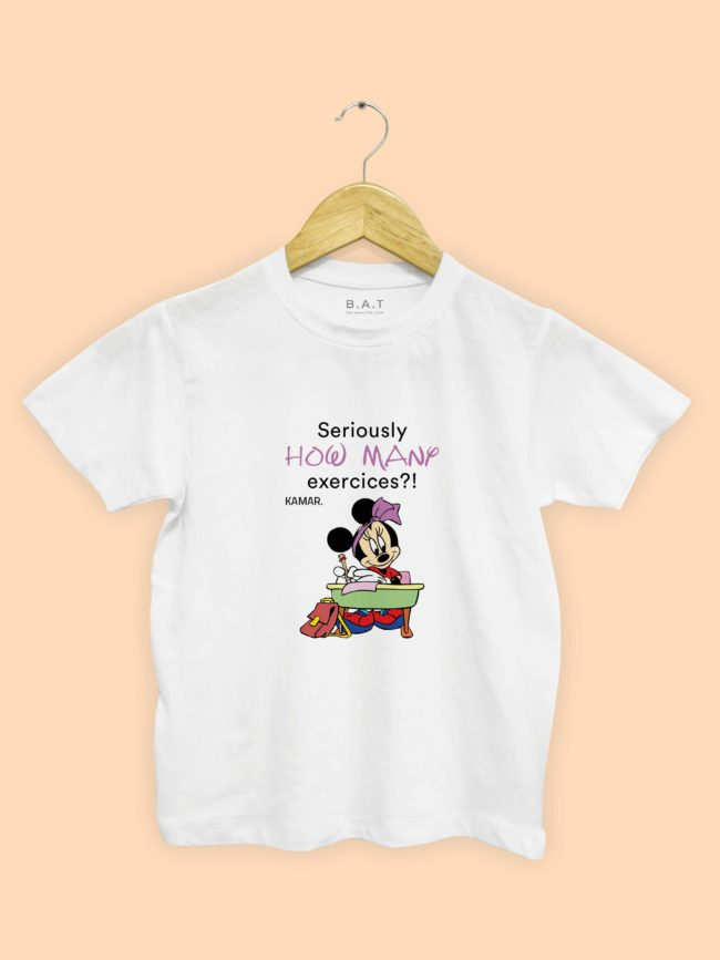 T-shirt Minnie – Excercices