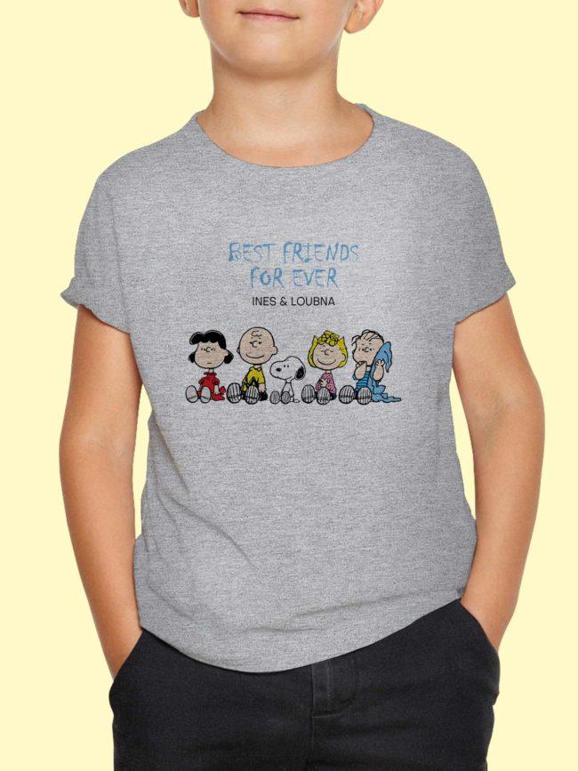 T-shirt Snoopy – Best friends