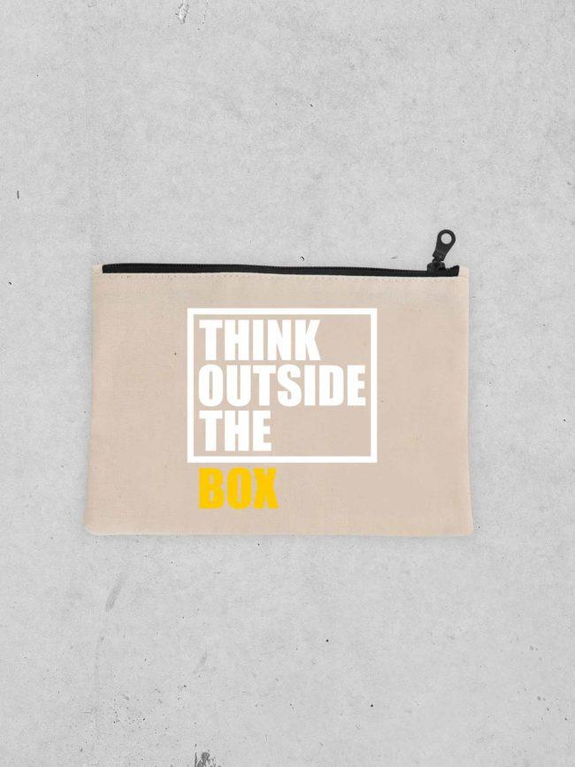 Pochette Think outside the box