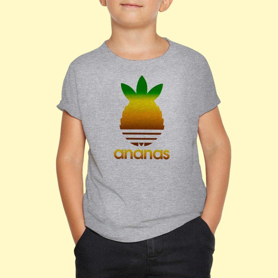 T-shirt Ananas coloré