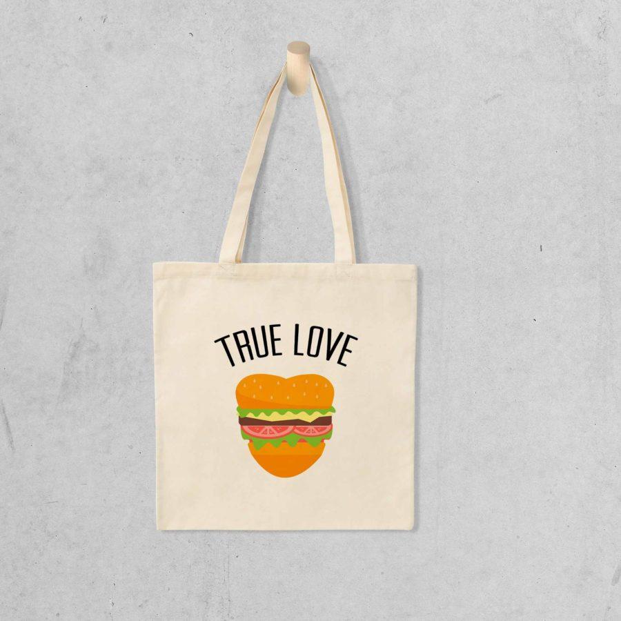 Tote bag True love