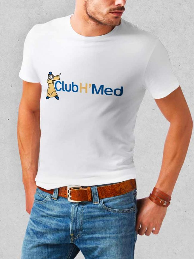 T-shirt Club h'med
