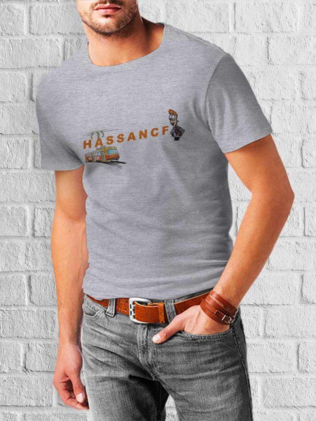 T-shirt Hassancf