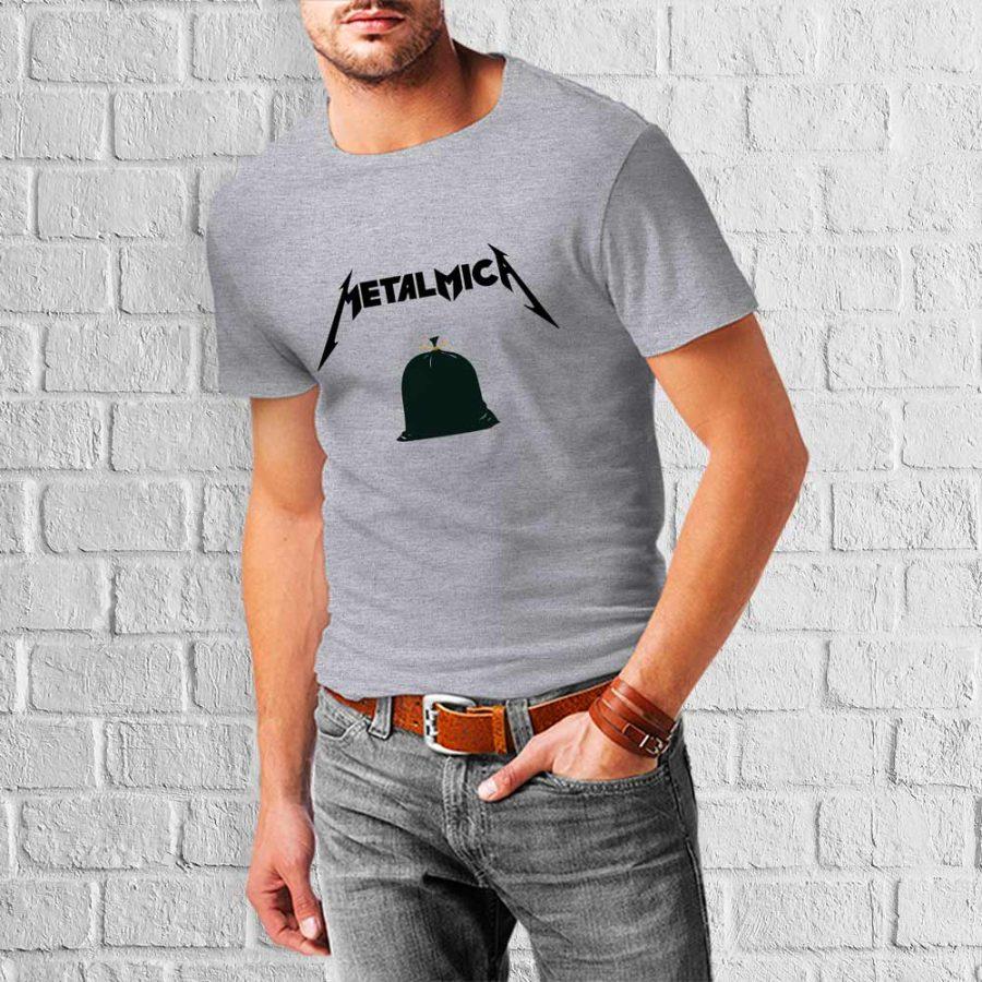 T-shirt Metalmika