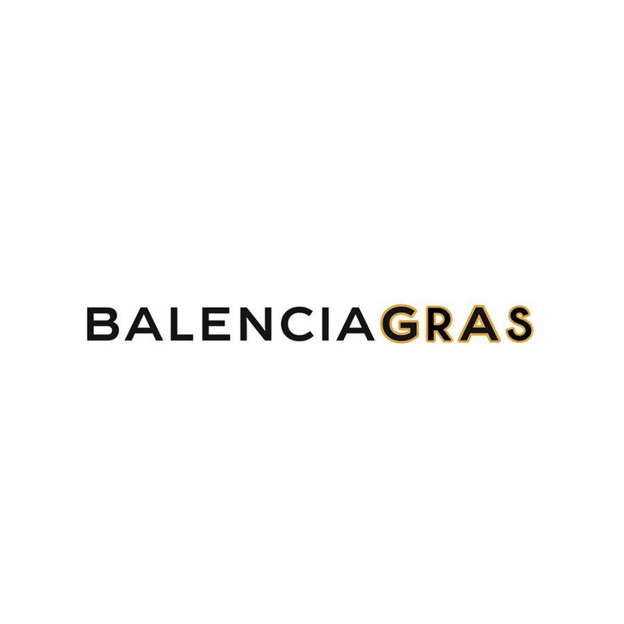 T-shirt Balenciagras