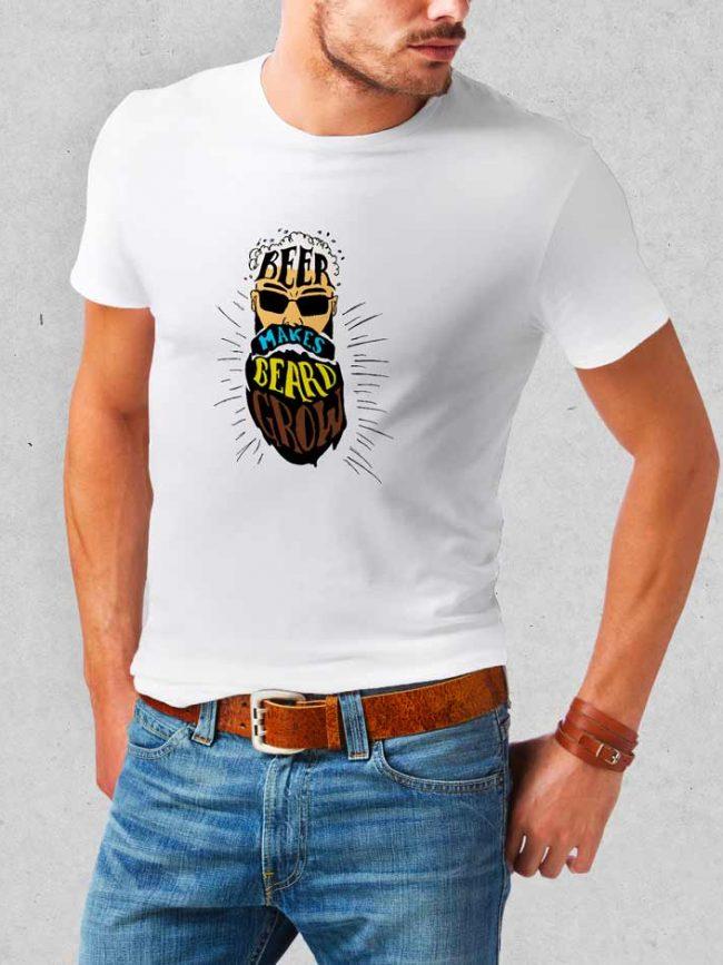 T-shirt Beer beard