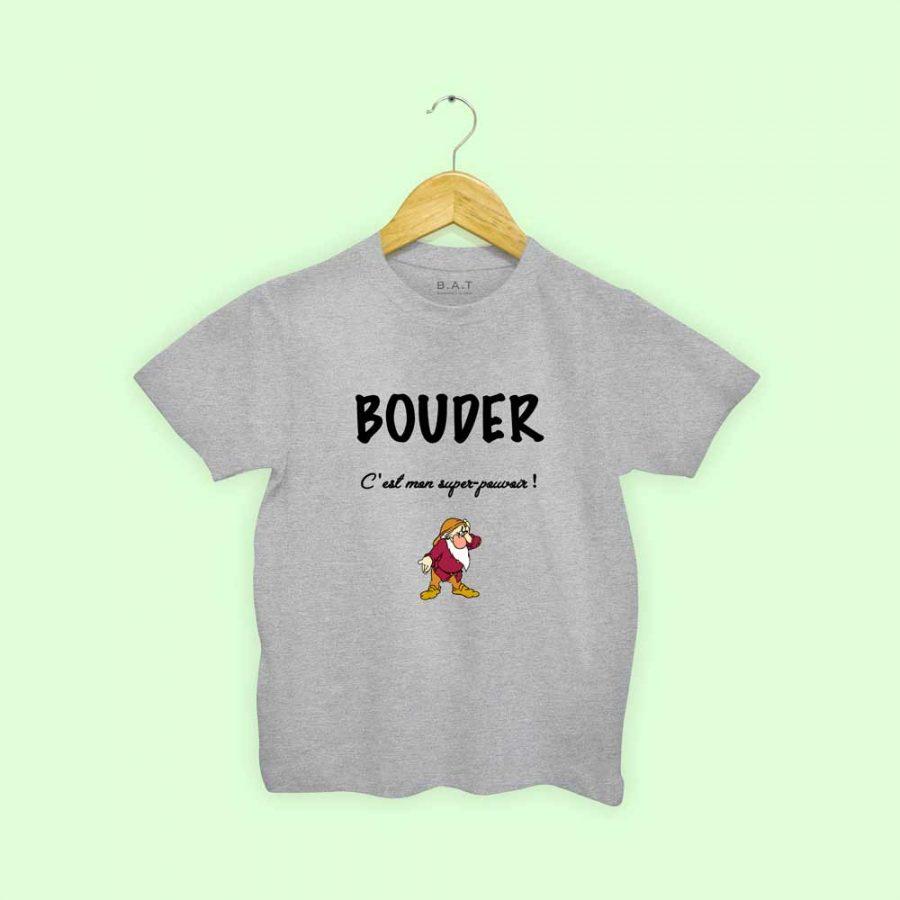 T-shirt Bouder super pouvoir