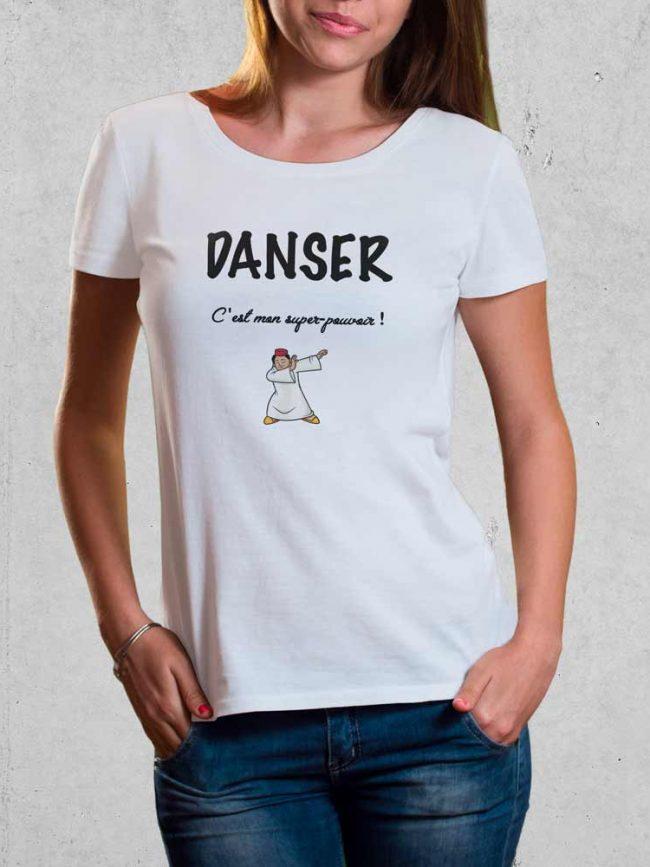T-shirt Danser super pouvoir