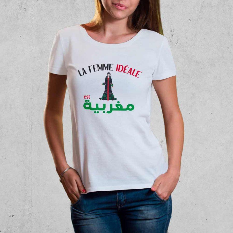 T-shirt Femme marocaine 1