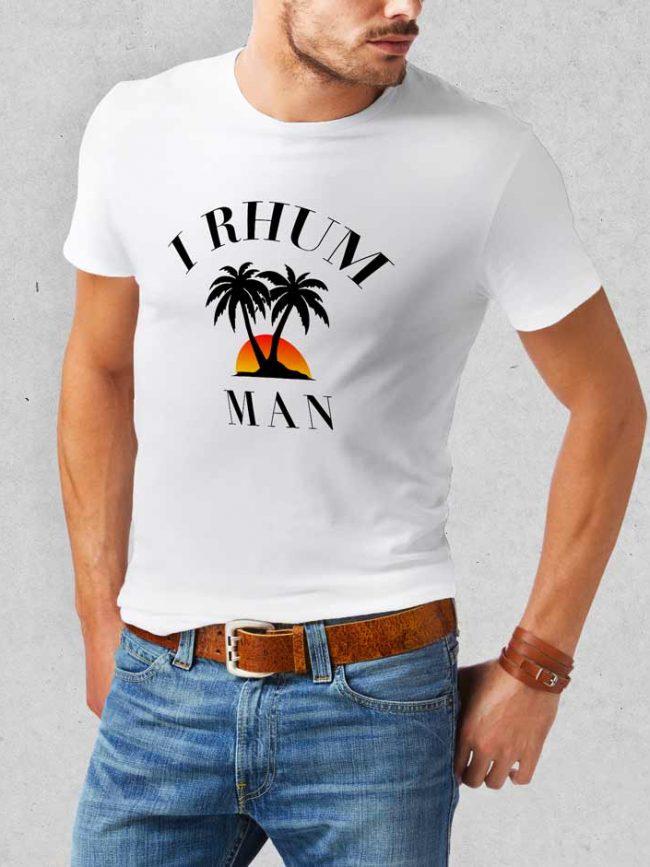T-shirt I rhum man