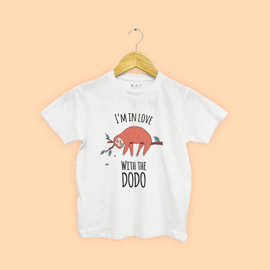 T-shirt I'm in love dodo