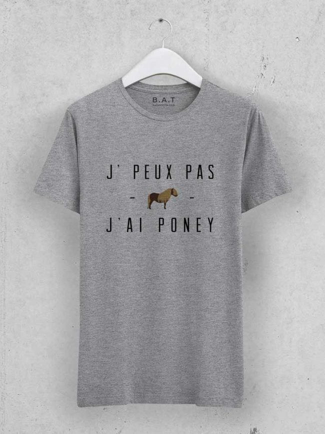 T-shirt JPP poney