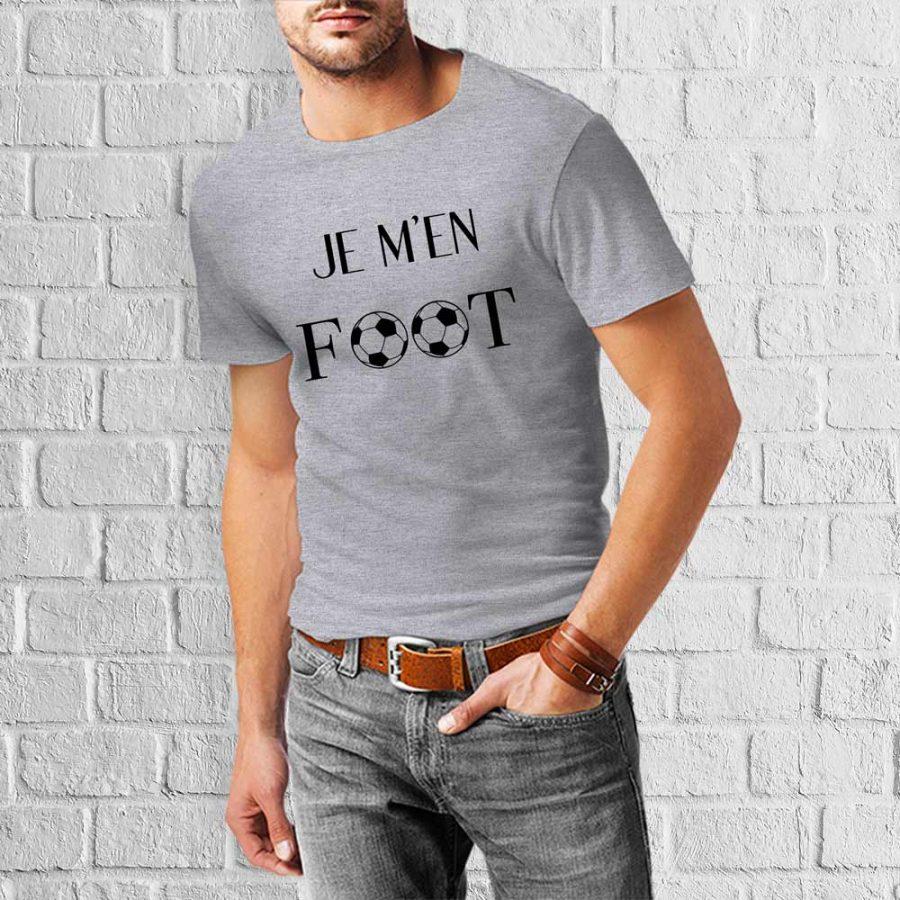 T-shirt Je m'en foot