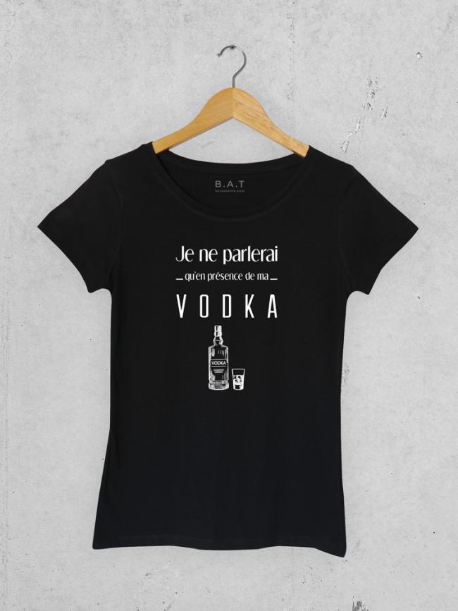 T-shirt Je ne parlerai vodka