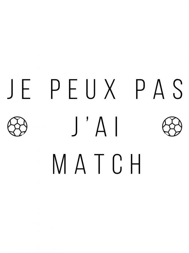 T-shirt JPP match