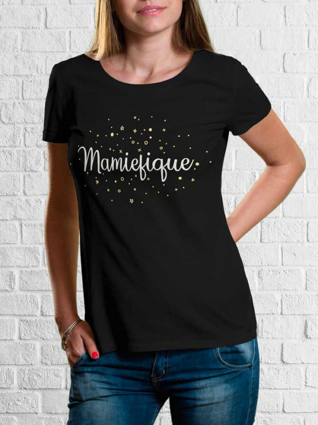 T-shirt Mamiefique